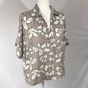 Natori- 100% cotton kimono top, size S